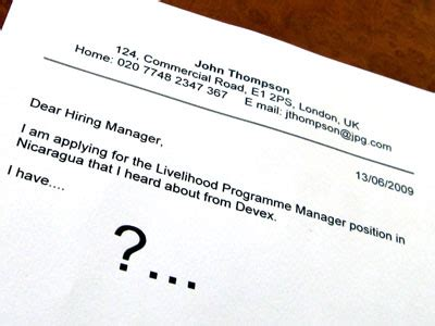 Example of a Customer Service Cover Letter - Job Search Jimmy